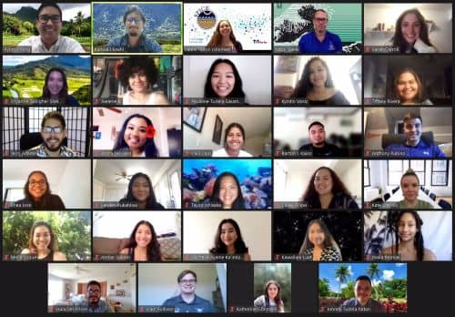 2021 Data Science SPICE Summer Institute virtual class meeting